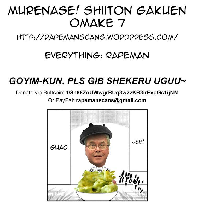 Murenase! Shiiton Gakuen Ch.7.7