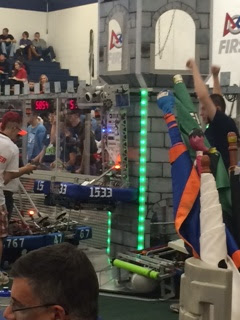 First Robotics Competition in McLeansville, NC