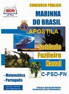 Apostila Concurso de Admissão Soldados Fuzileiros Navais (C-FSD-FN) 2015/2016.