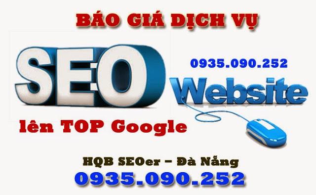 Báo giá Dịch vụ SEO website lên Top Google