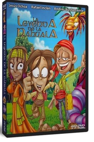 La Leyenda de la Nahuala DVDR NTSC Español Latino Descargar