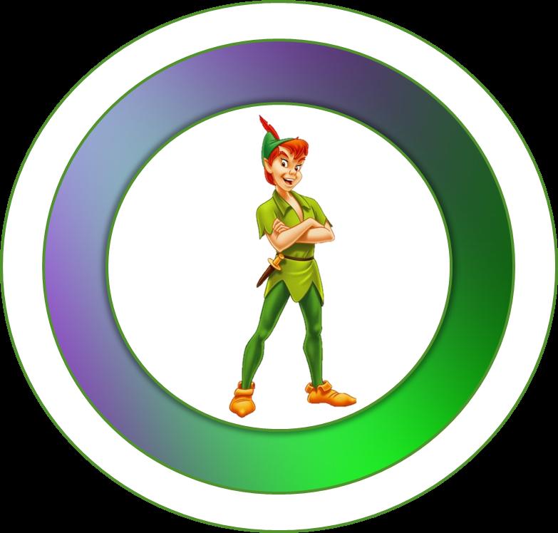 Toppers o Etiquetas de Peter Pan para imprimir gratis