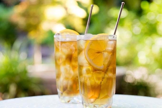 LONG ISLAND ICED TEA #healthydrink #easyrecipe