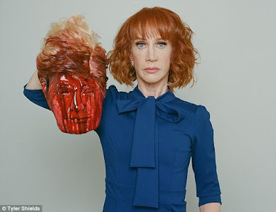 CNN terminates agreement with Kathy Griffin over controversial Trump photo