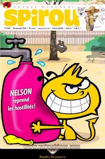 Chaque Mercredi, Spirou, Nelson reprend les hostilités !, numéro 4094, année 2016