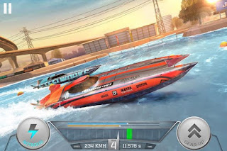 Top Boat Racing Simulator 3D MOD v1.0 APK Unlimited Money Terbaru