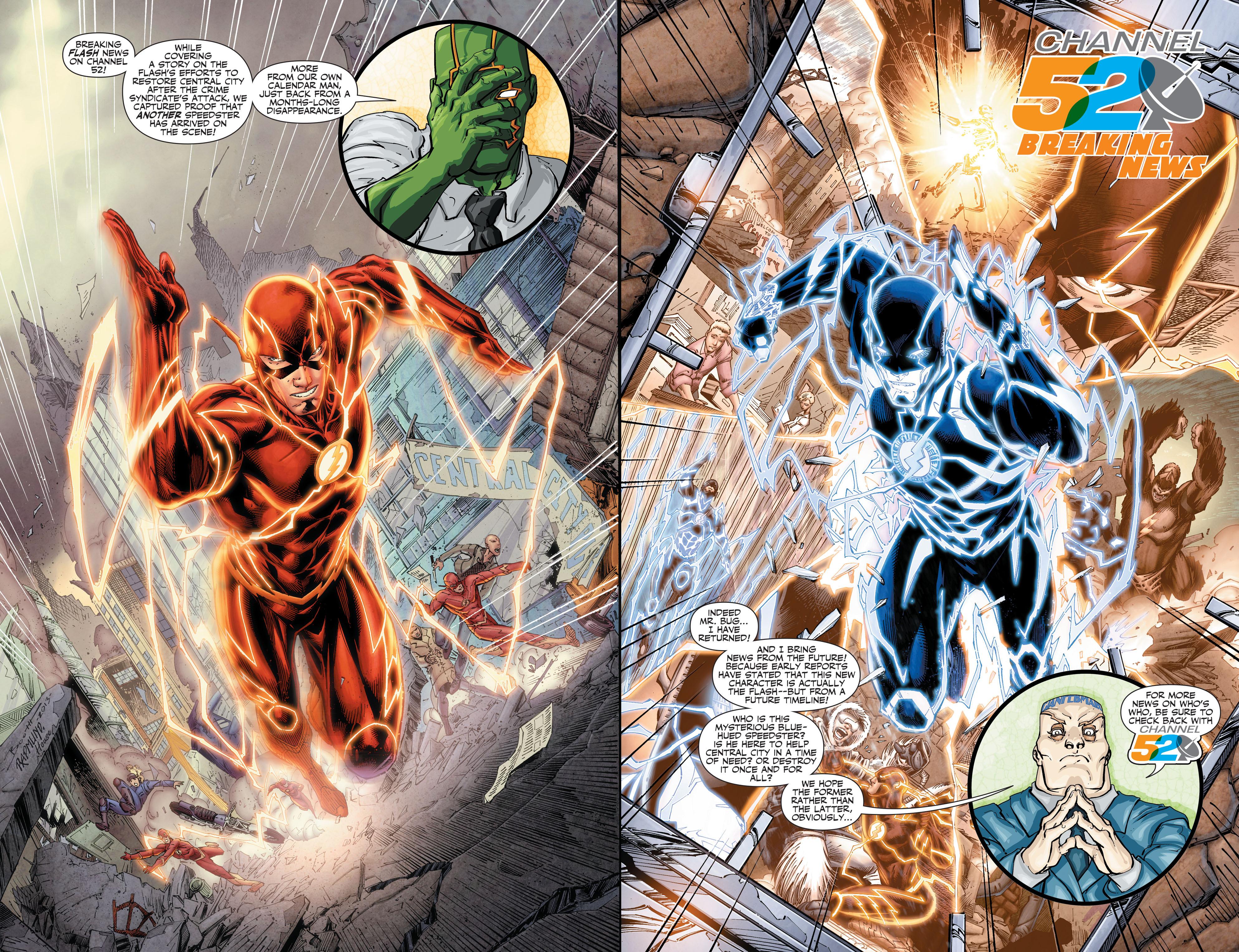 Read online Aquaman (2011) comic -  Issue #30 - 22