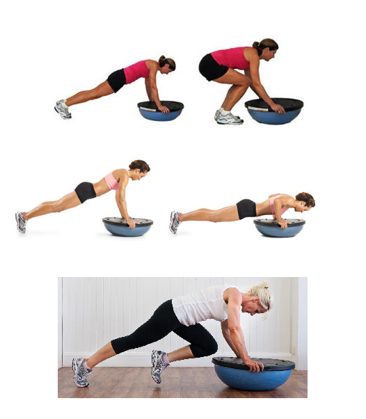 Bosu Ball Burpee Jump: Fitness As A Lifestyle ♥: FaaL Workout Nr.1