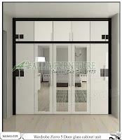 Lemari tipe minimalis model unit cabinet Zorro