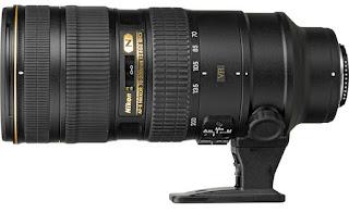 Современный объектив Nikon AF-S NIKKOR 70-200mm f/2.8G ED VR II