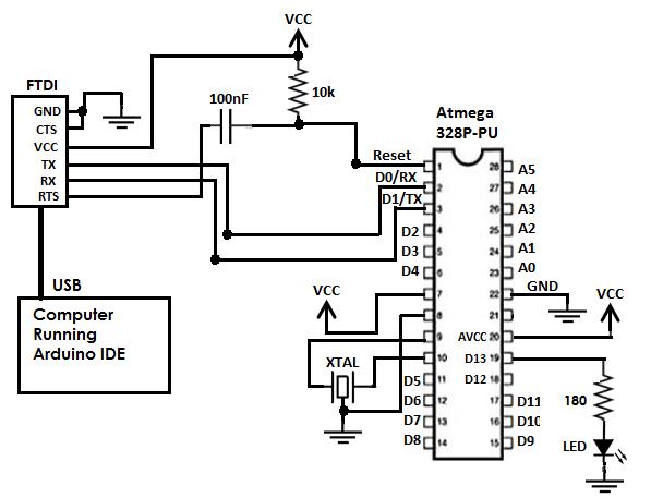 forcetronics  building a arduino uno compatible circuit