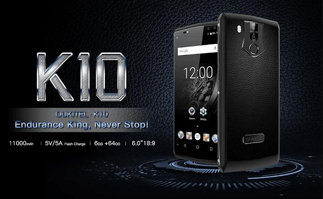 هاتف-OUKITEL-K10-4G