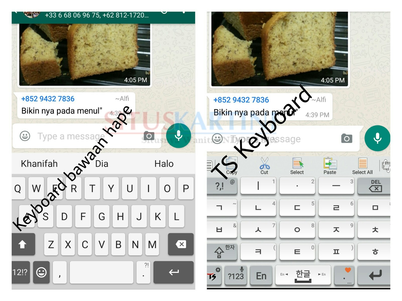 Cara mengaktifkan Memasang Keyboard Hangul •œê¸€ atau Tulisan Korea di Android mu