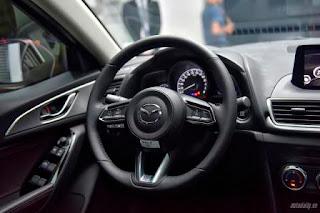 Nội thất sang trọng Mazda 3 2017
