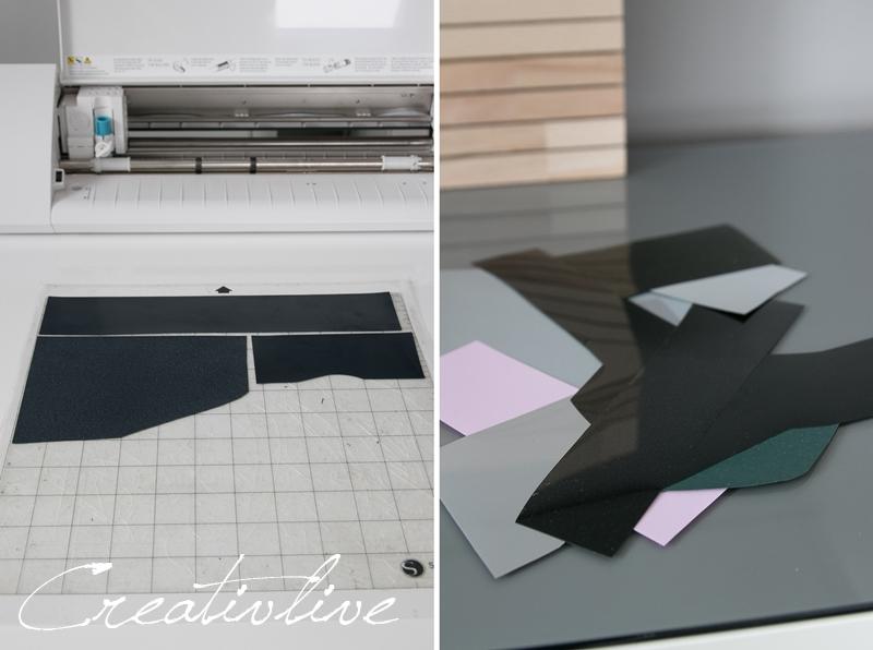 Die Gewünschten Texte/Motive Aus Flexfolie Mit Der Silhouette Cameo  Ausschneiden Und Aufbügeln.