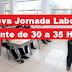 Nueva Jornada Laboral Docente de 30 a 35 Horas