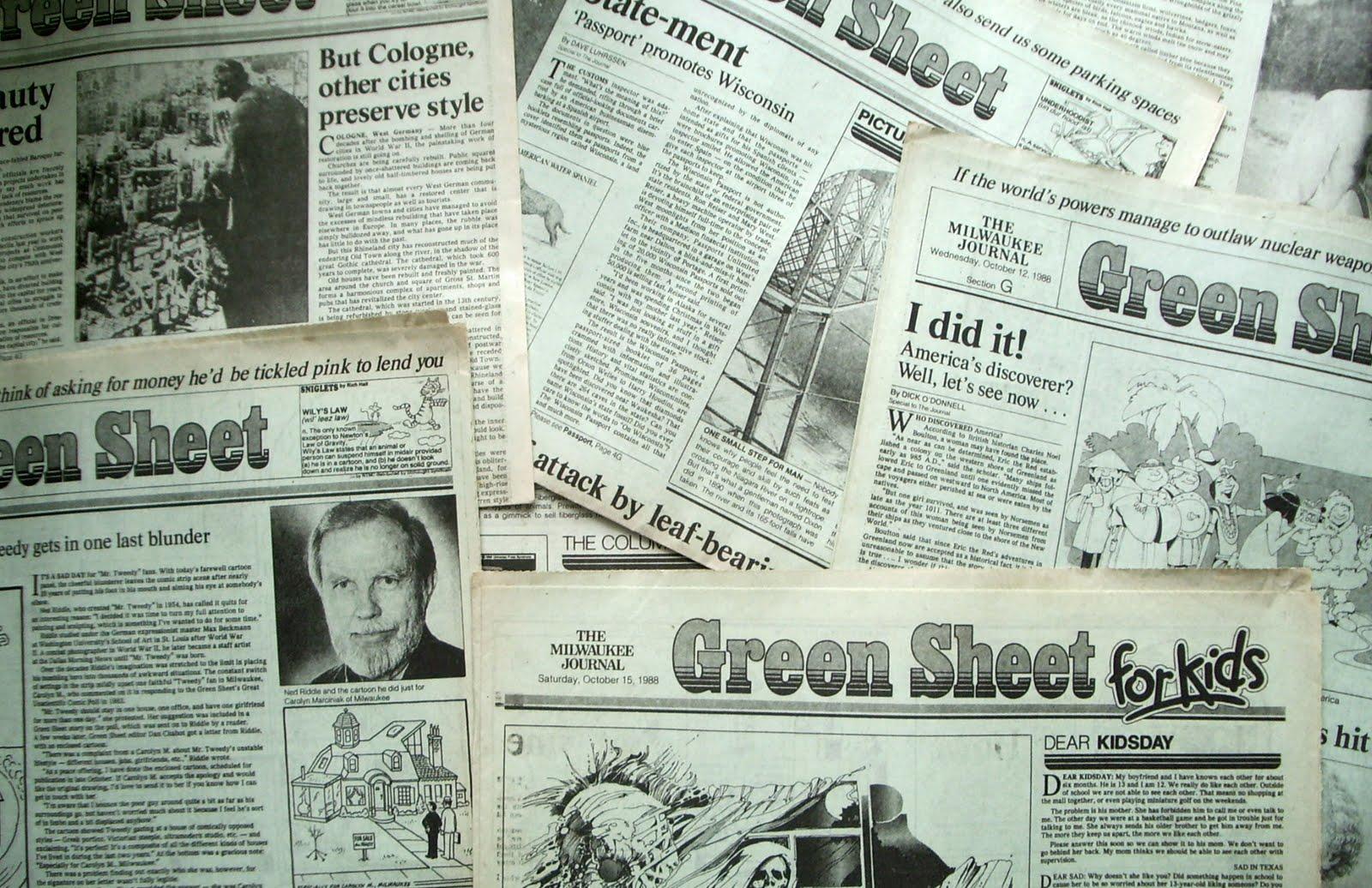 Ernie Von Schledorn >> 12 signs you're old-school Milwaukee - OnMilwaukee