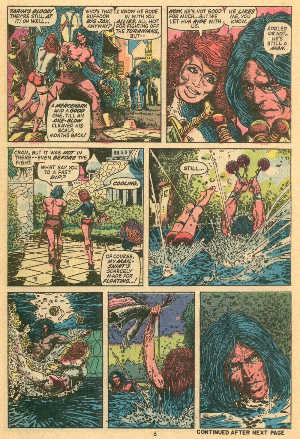 Conan the Barbarian (1970) Issue #24 #36 - English 6