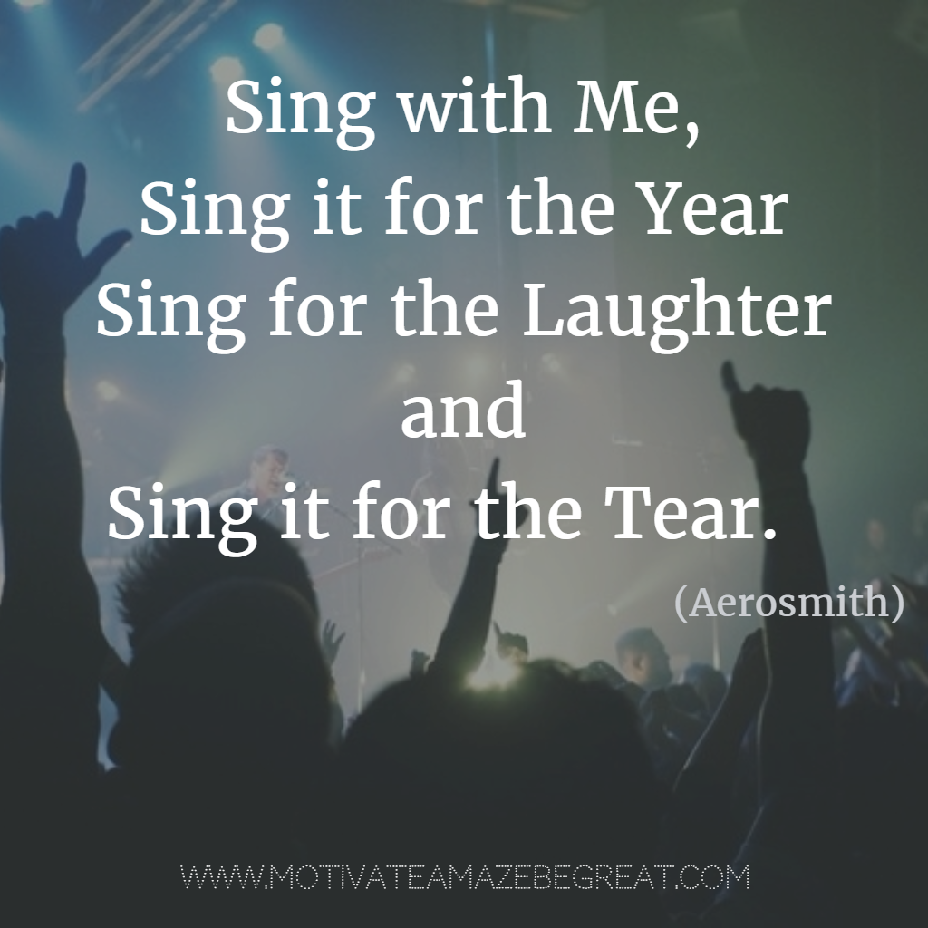 21 Most Inspirational Song Lines and Lyrics Ever - Motivate ...