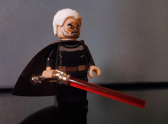 Count Dooku Clone Wars Star Wars lego