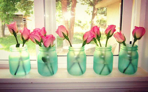 Live Gorgeously Sea Glass Jar Diy