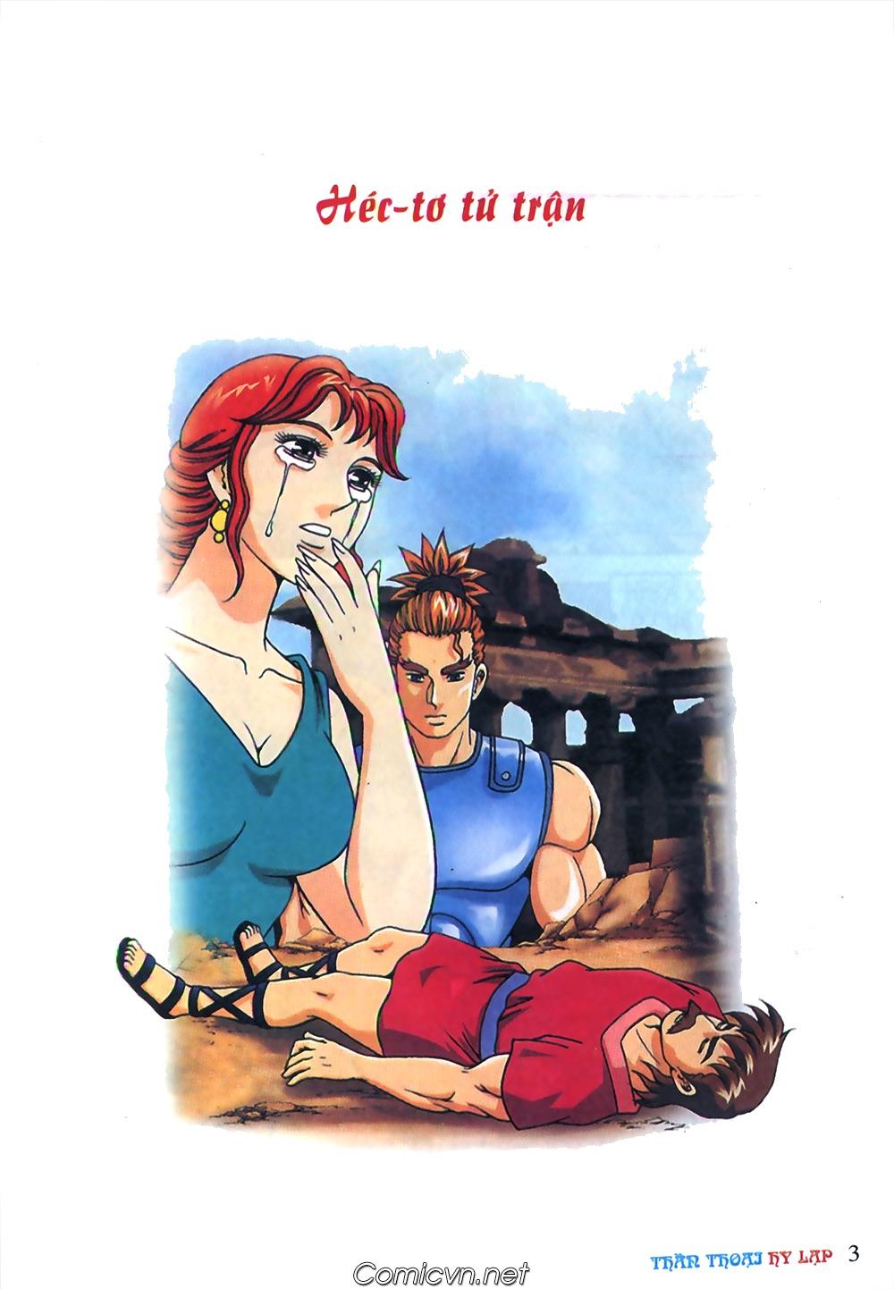 Thần Thoại Hy Lạp Màu - Chapter 62: Hector tử trận - Pic 3
