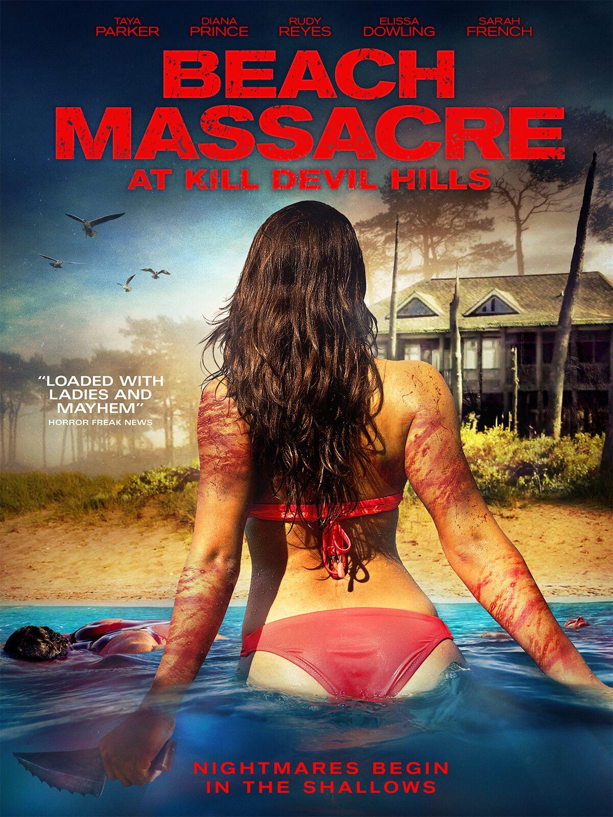 18+ Beach Massacre at Kill Devil Hills (2016) UNRATED 300MB DVDRip 480p