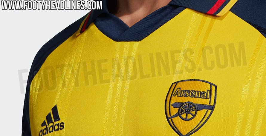 424ca5bb8 Adidas Arsenal 19-20 Icon Retro Jersey Leaked
