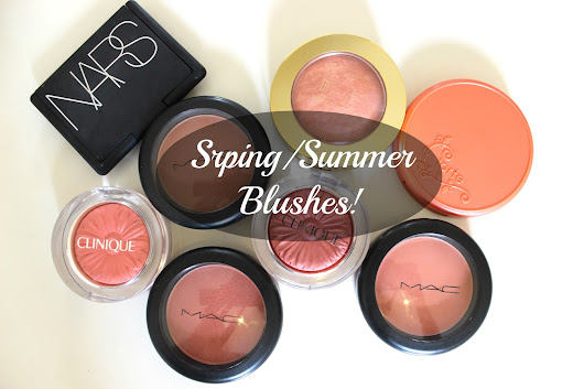 The Perfect Spring/Summer Blushes