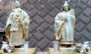 真言宗 光寶院さんにある山伏の像