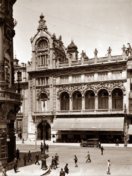 Casino de Madrid en 1941