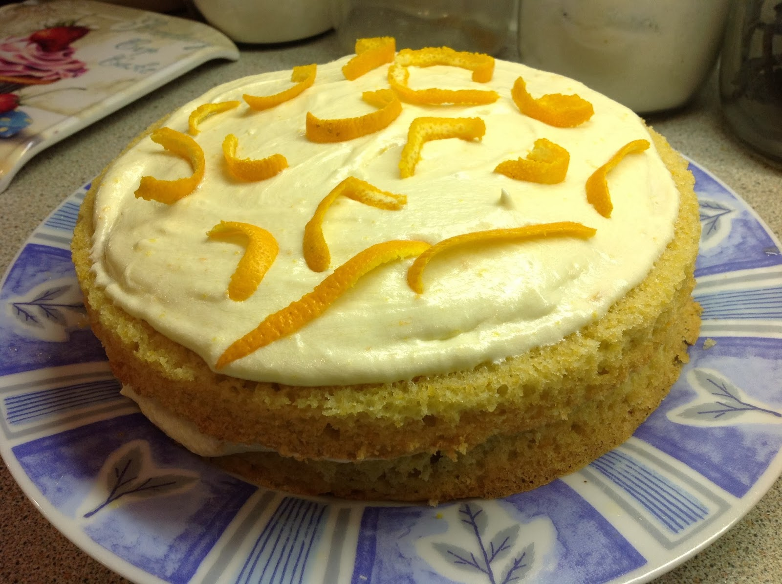 This Muslim Girl Bakes: Orange Sandwich Cake