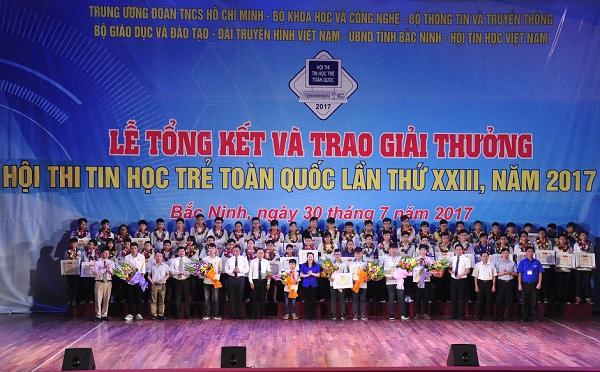 Tổng hợp kết quả Hội thi Tin học trẻ toàn quốc năm 2017