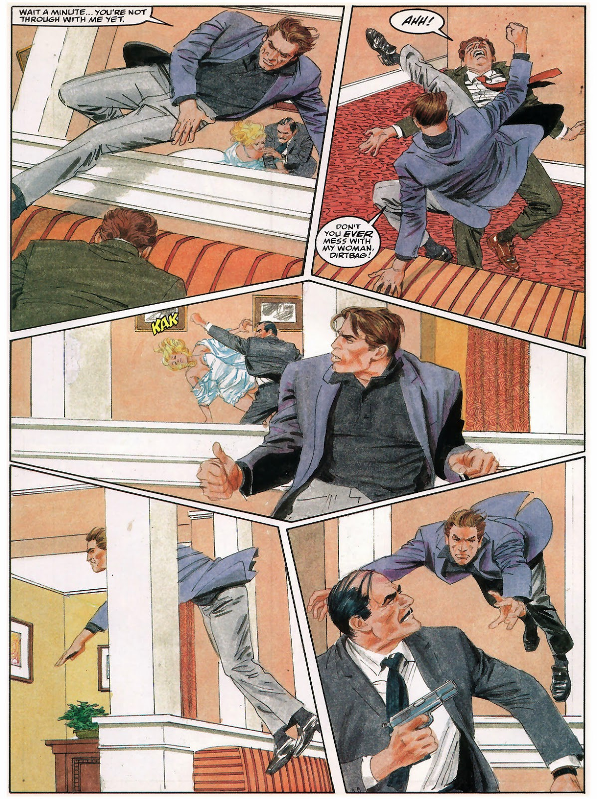 Fight Scenes Are Like Learning A Dance You Learn It Move: The Bronze Age Of Blogs: Gray Morrow's How To Draw A Fight