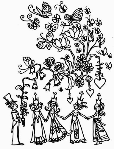 Midnight Ramblings: Free Coloring Book Pages