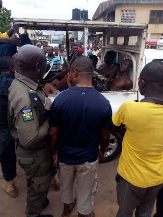 4 Secondary School Cult Boys Arrested With Arms In Delta