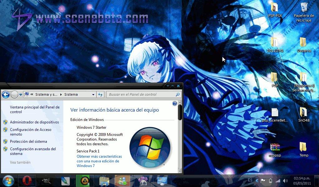 Documentos sin archivar cambiar fondo de escritorio en windows 7 starter - Como cambiar fondo de escritorio windows 7 starter ...