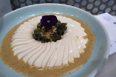 Social Place, century egg tofu