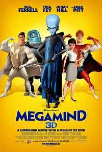 Megamind (2010) Hindi Dubbed 300Mb Free Download Dual Audio Movies