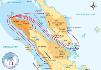 Letak Kerajaan Aceh