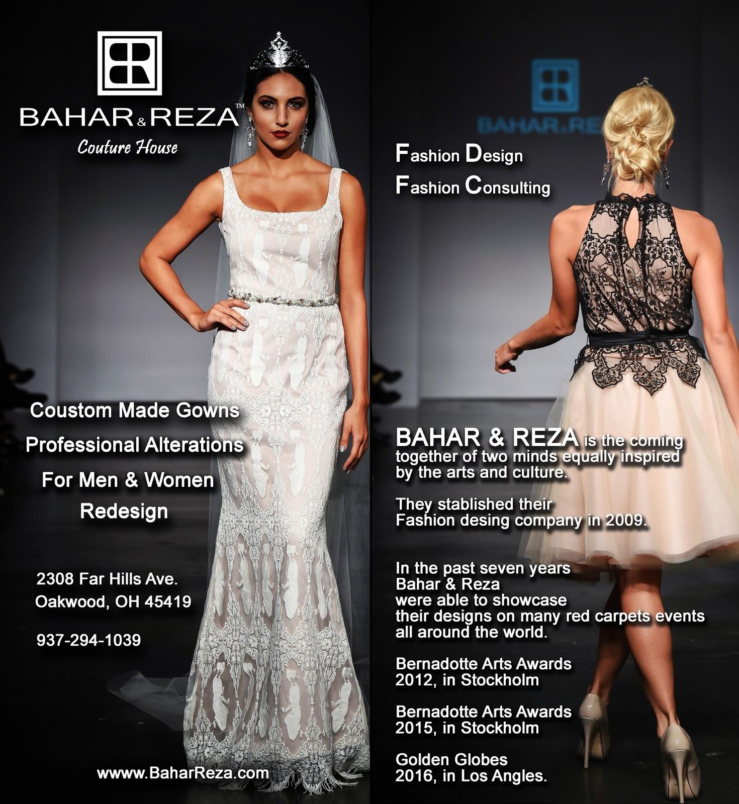 BaharReza Will Be At Bridal Open House On Saturday March 5th 900 To 200 PM AddressPrime Time Party Rental 5225 N Springboro Pike DaytonOhio 45439
