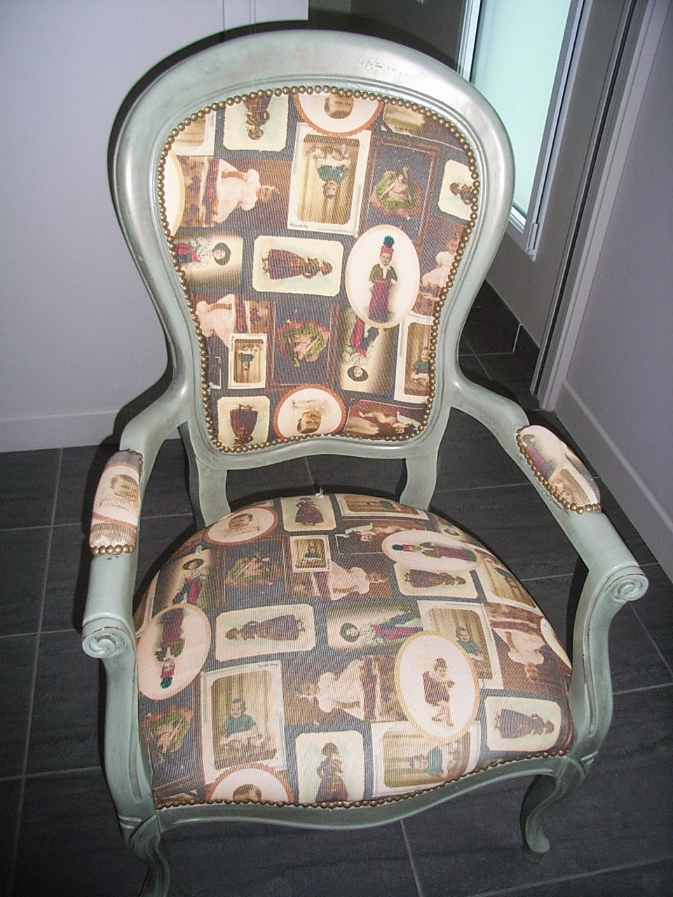 Creation Decoration Customisation Refaire Un Fauteuil