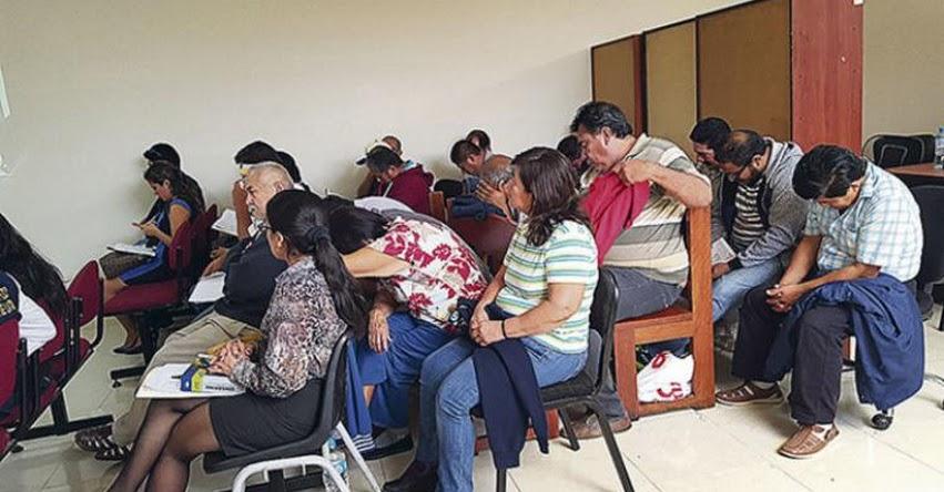 «Tramitadores» que ofrecían servicios en los exteriores de las escuelas de manejo ahora en manos de la Fiscalía de Piura