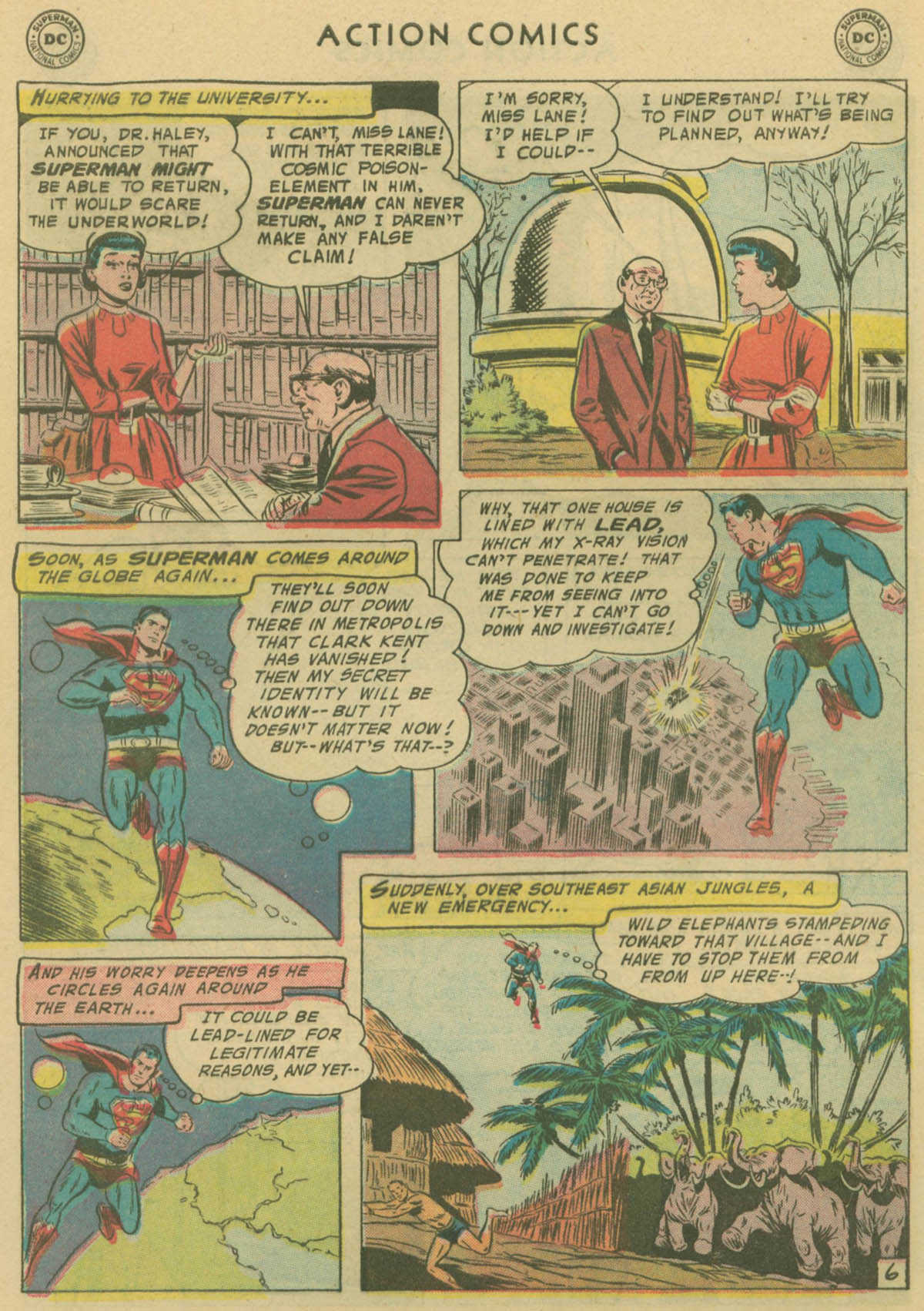 Read online Action Comics (1938) comic -  Issue #229 - 7