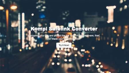 Kompi Safelink Converter Blogger Template
