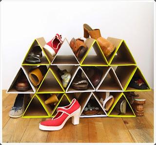 Mukavva Kutulardan Ayakkabılık Modeli Yapımı, Resimli Açıklamalı 3