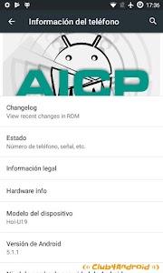 AICP10 para wiko bloom (5.1.1)