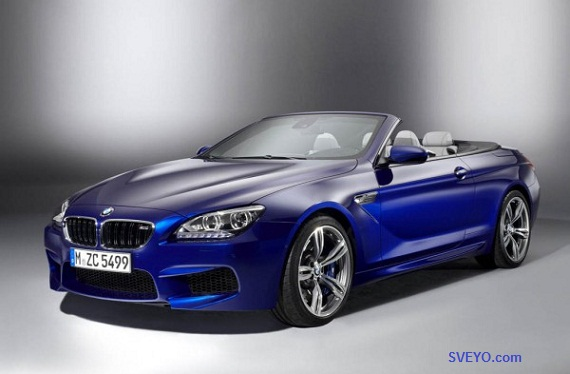 2012 BMW M6 convertible review