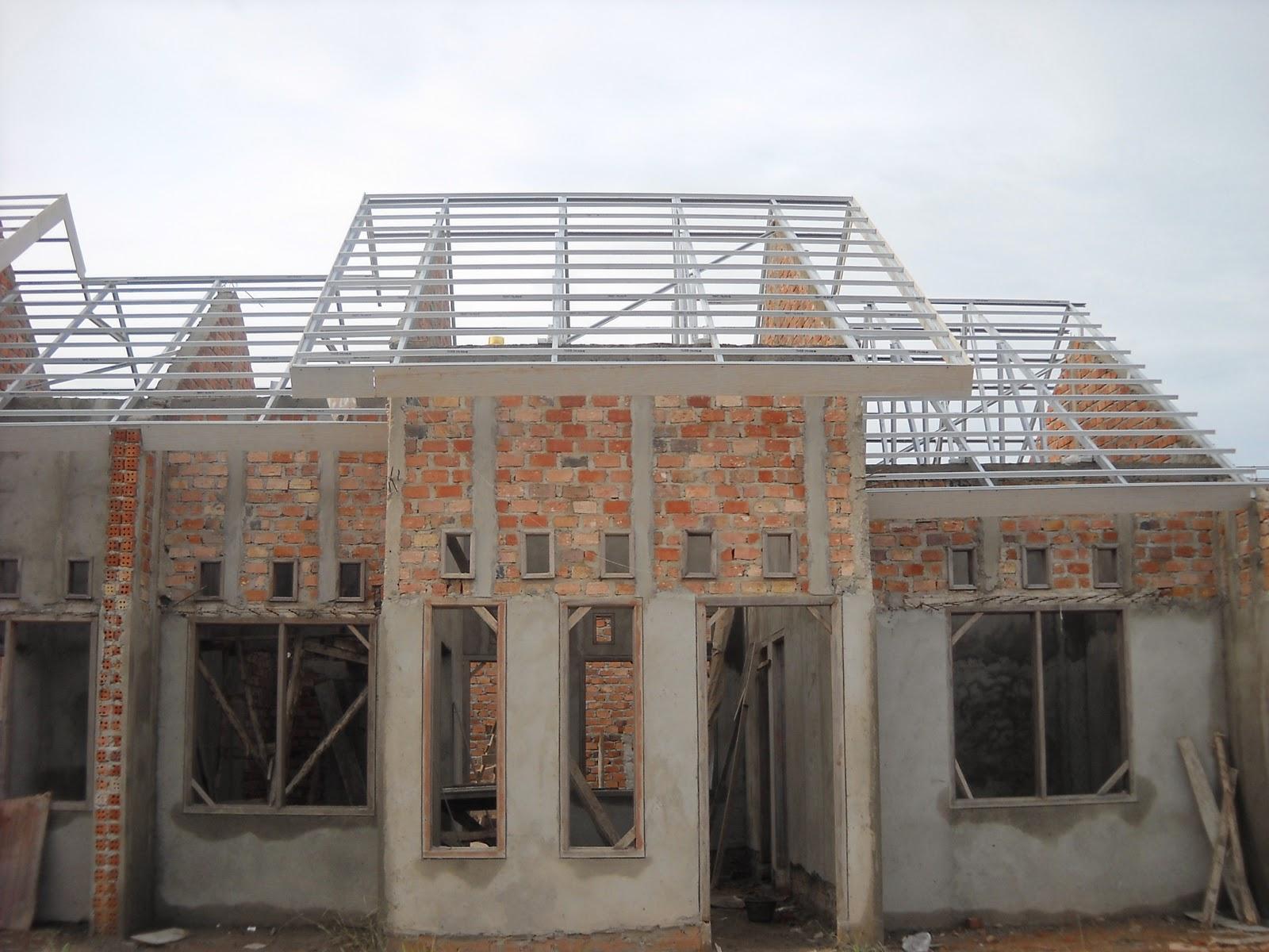 Contoh Rangka Atap Baja Ringan Minimalis Top Gambar Rumah Dengan Gubukhome