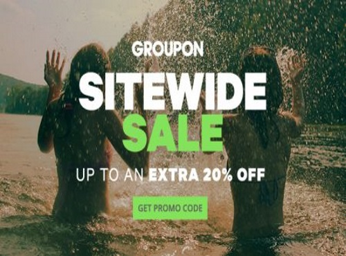 "Groupon Sitewide Sale Extra 20""% Off Promo Code"